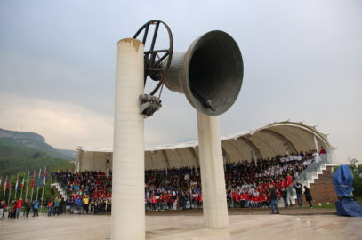 The Campana dei Caduti is ringing: the Tournament has officially started